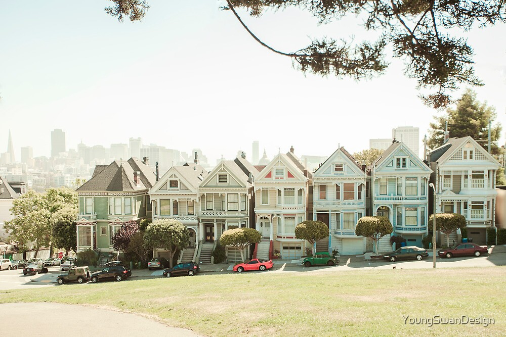 Painted Ladies by YoungSwanDesign