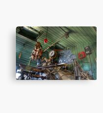 Steam Punk Metal Print