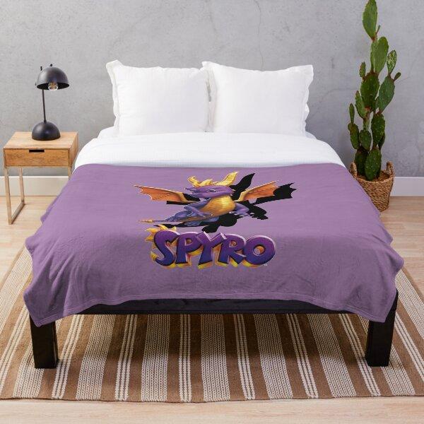 Spyro Throw Blanket