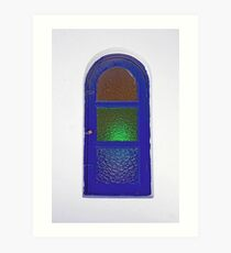 Bolted And Locked Art Print
