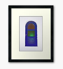 Bolted And Locked Framed Print
