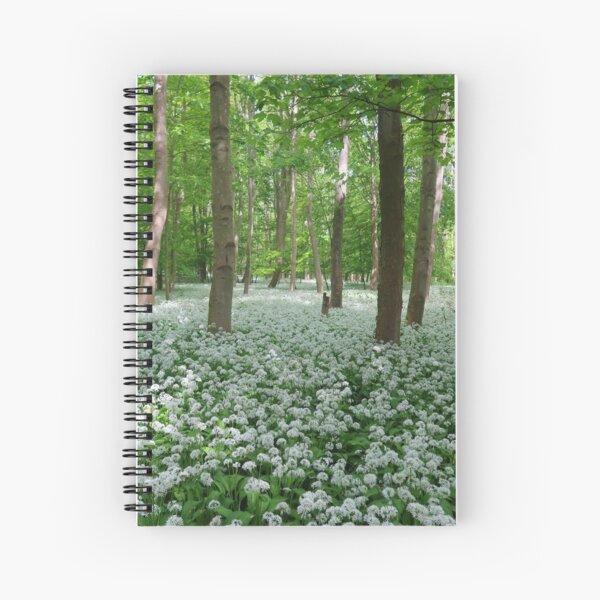 Ramsons - wild garlic Spiral Notebook