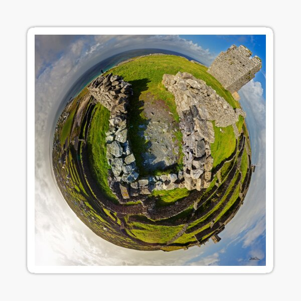 O'Brien Fort Inisheer, Aran Islands, Ireland Sticker