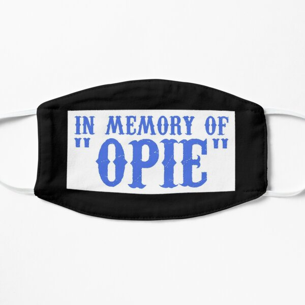 Opie Memorial Patch - Sons of Anarchy Mask