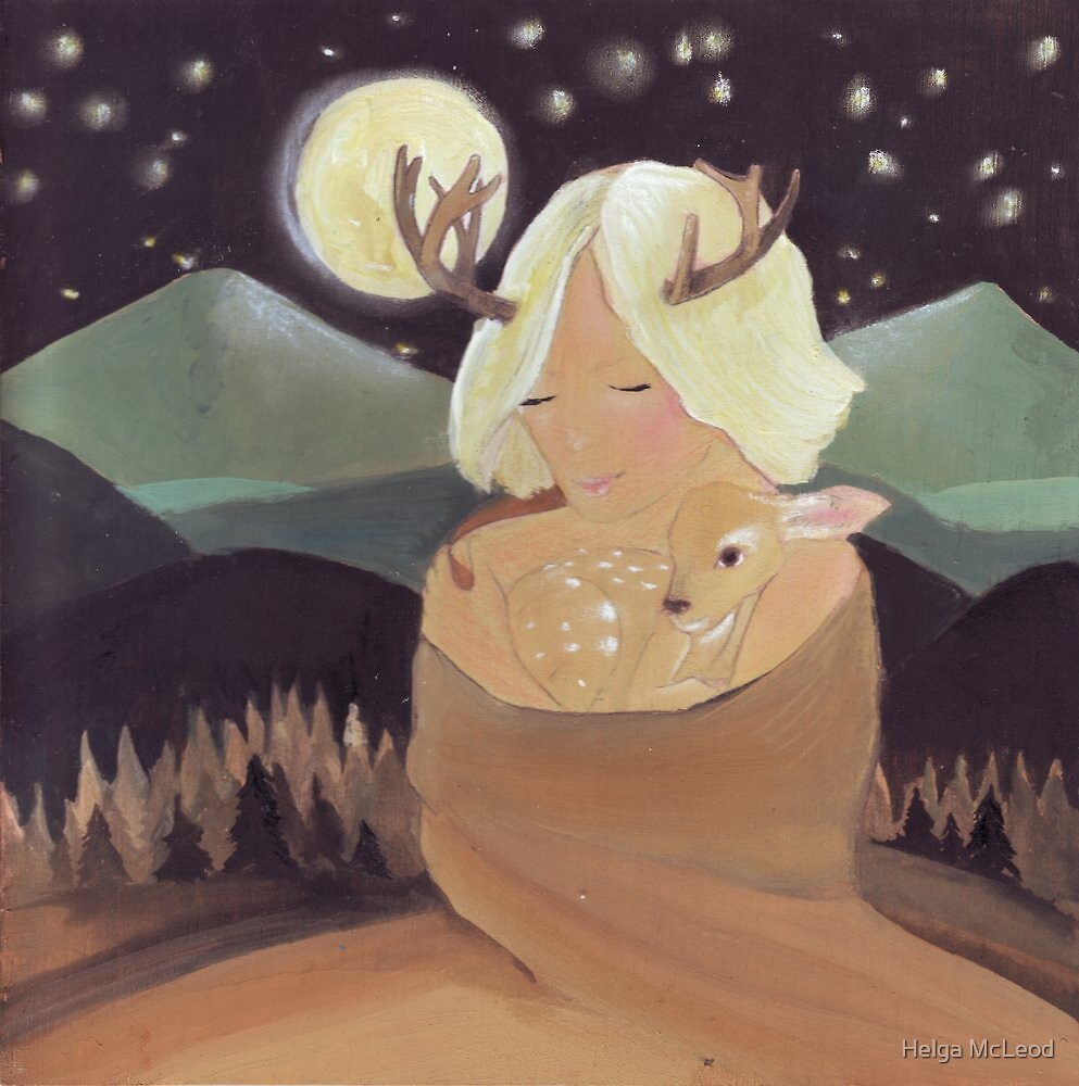 I love you little fawn by Helga McLeod