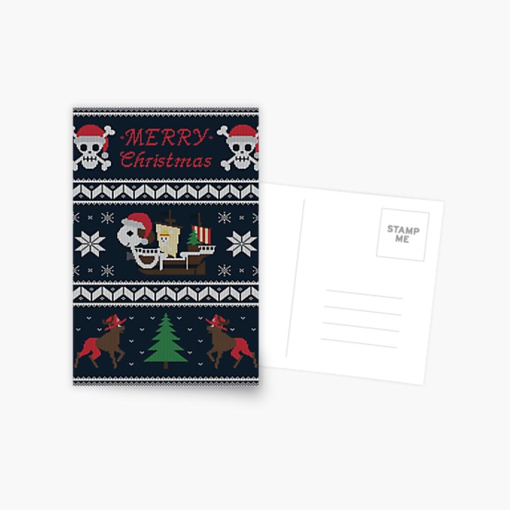 Fröhlich Weihnachten Postkarte