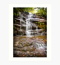 Somersby Falls, Somersby NSW Art Print