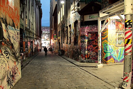 graffiti alley by natalie angus
