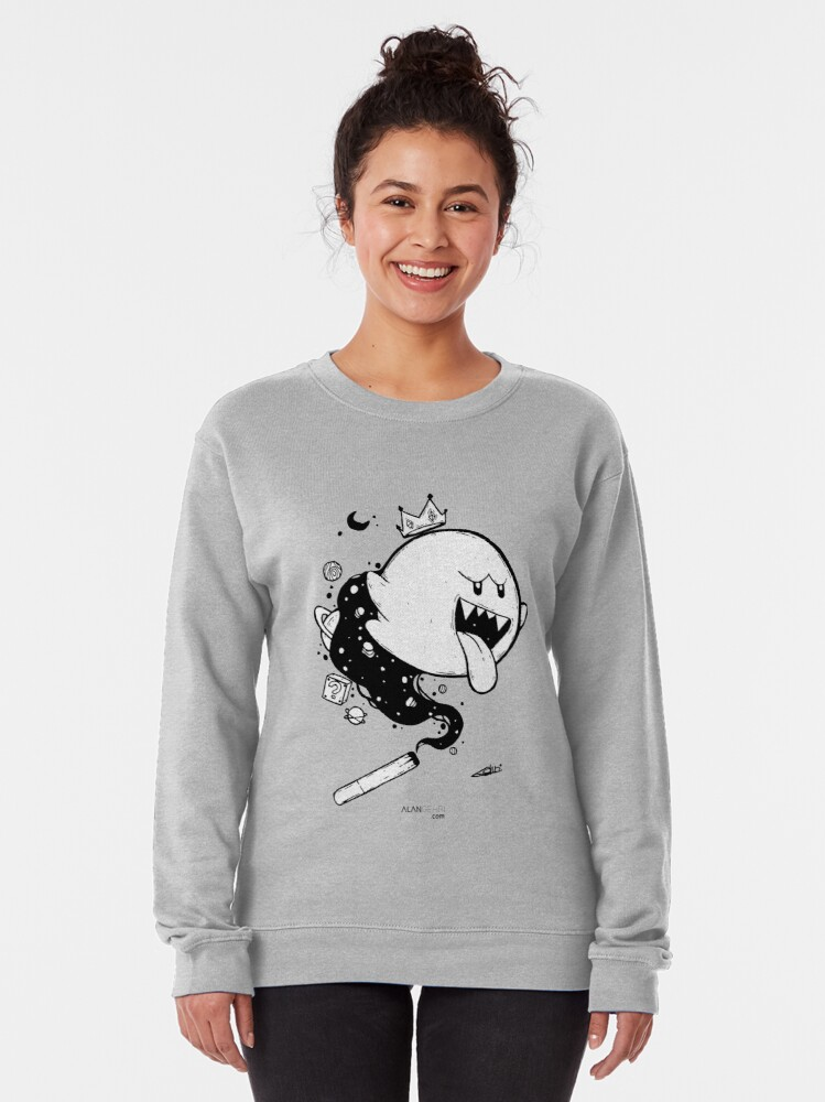 Alternate view of We build too many walls and not enough bridges Pullover Sweatshirt