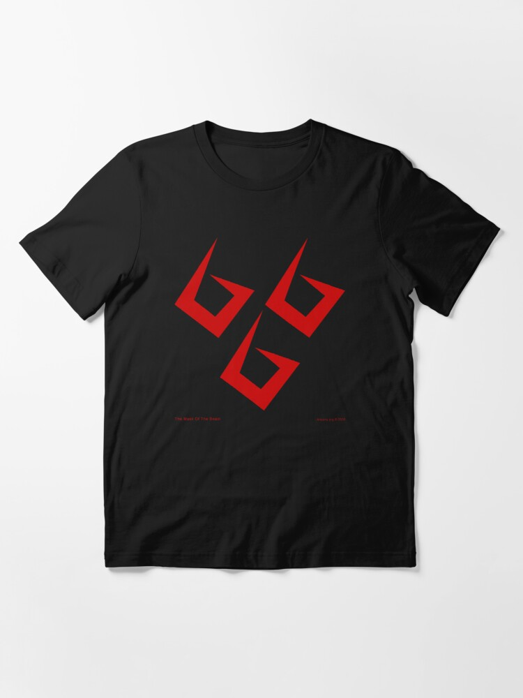 Alternate view of The Mask of the Beast Essential T-Shirt