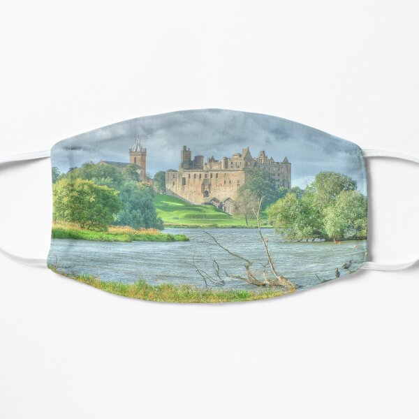 Linlithgow Palace HDR ( Wentworth Prison in Outlander TV series )  Flat Mask