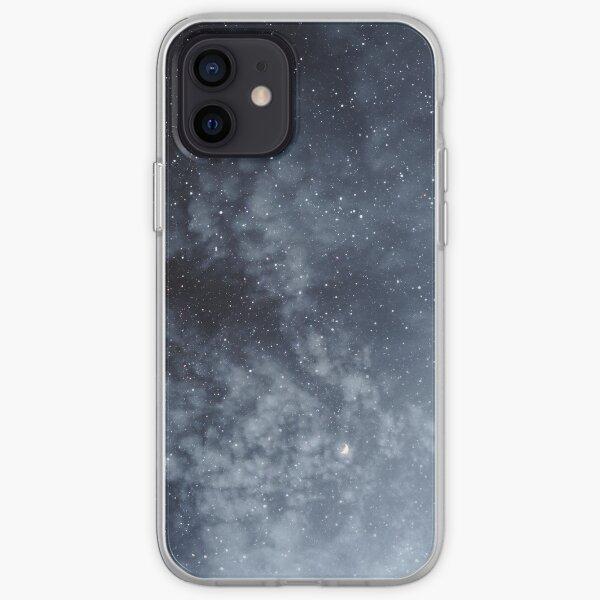 Blue veiled moon iPhone Soft Case