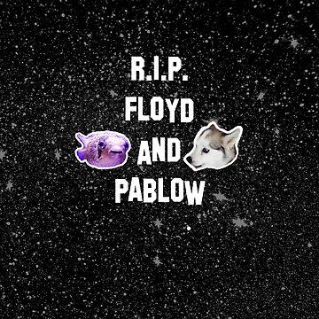 RIP FLOYD UND PABLOW von ZVCHWILLIAMS