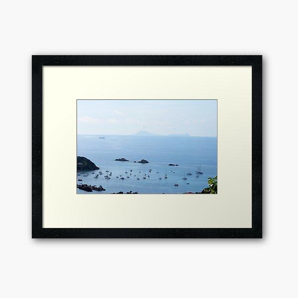 Les Gros Islets Framed Art Print