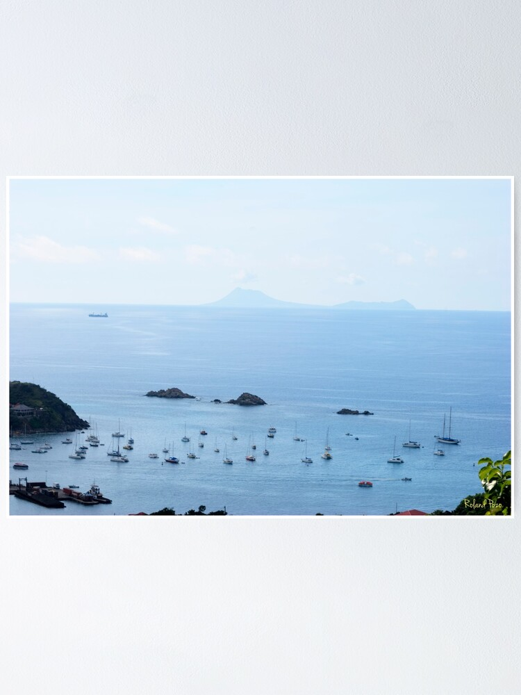 Alternate view of Les Gros Islets Poster