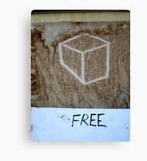 free cubed Canvas Print
