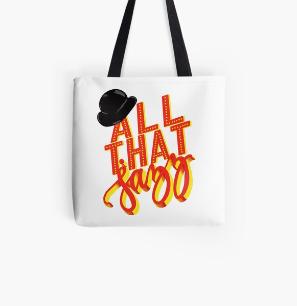 All That Jazz-Chicago All Over Print Tote Bag