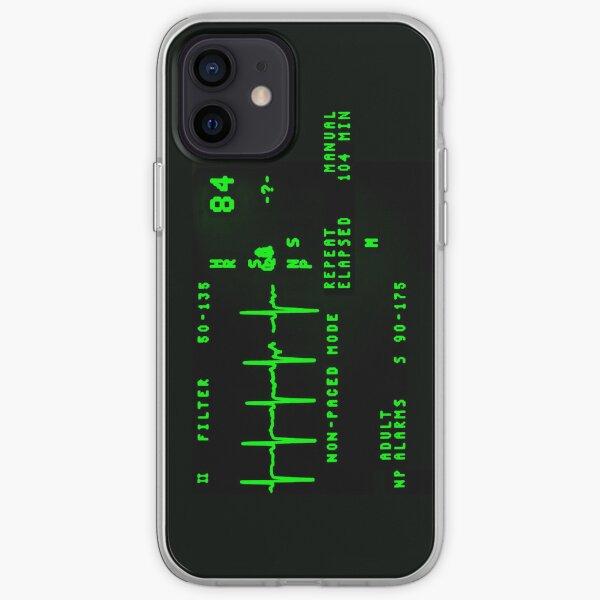 EKG Monitor iPhone Soft Case