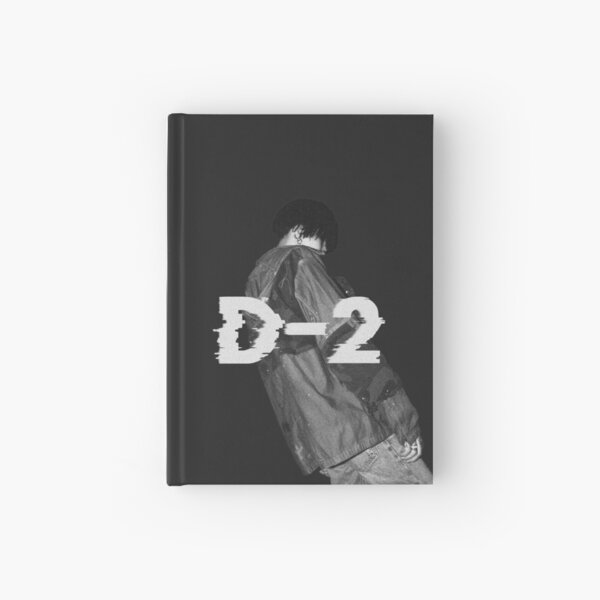 D Agust D-2 Suga cortado Cuaderno de tapa dura