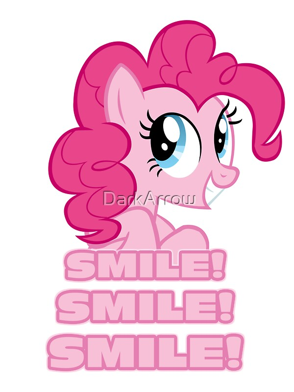 pinkie pie smile smile smile my little pony friendship is
