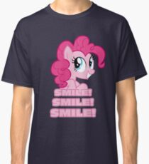 Pinkie Pie - Smile! Smile! Smile! (My Little Pony: Friendship is Magic) Classic T-Shirt