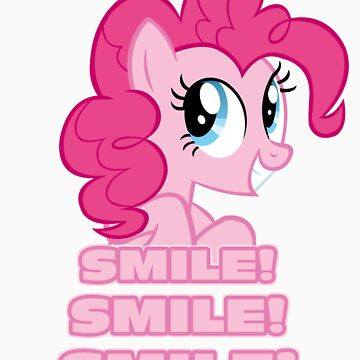 Pinkie Pie - Smile! Smile! Smile! (My Little Pony: Friendship is Magic) by DarkArrow