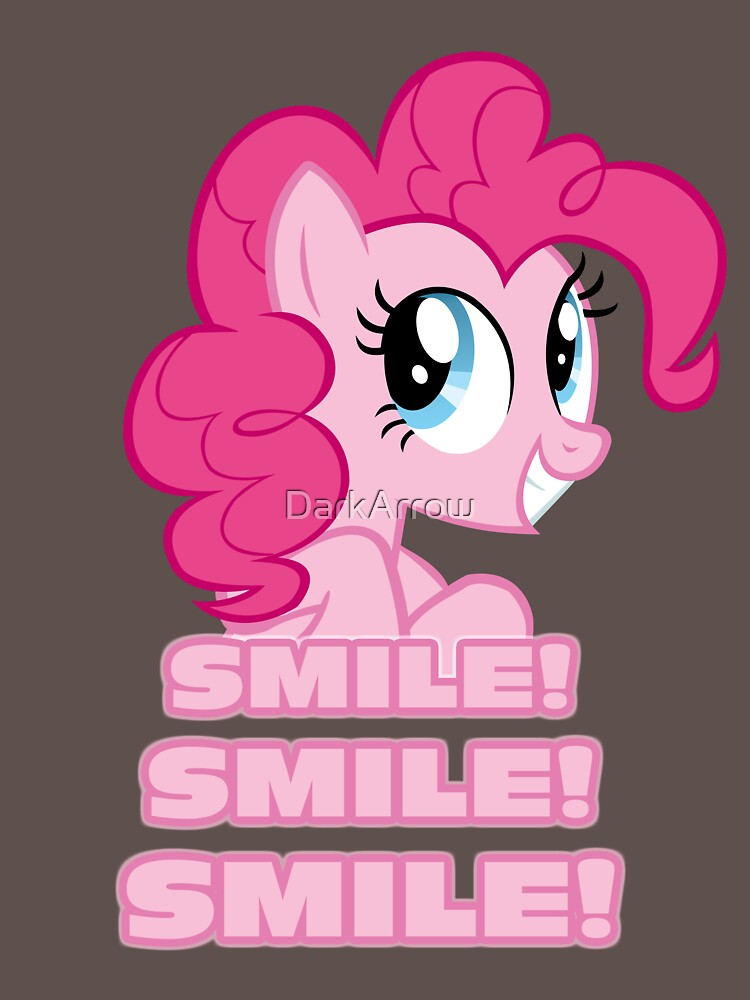 Pinkie Pie - Smile! Smile! Smile! (My Little Pony: Friendship is Magic) | Unisex T-Shirt