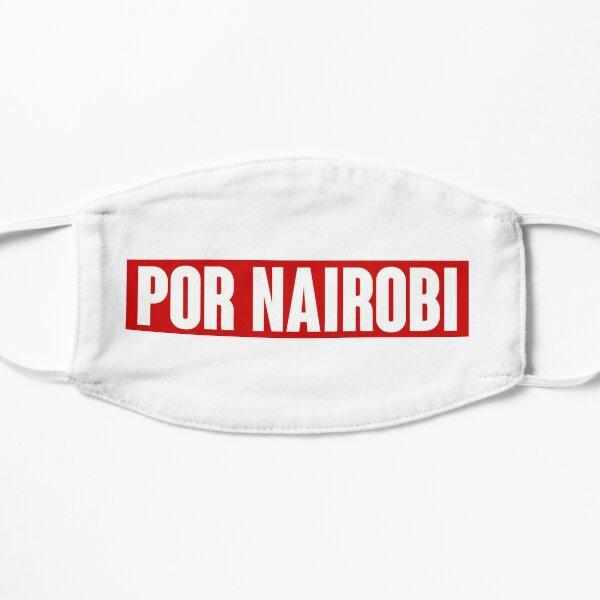 POR NAIROBI  Flat Mask