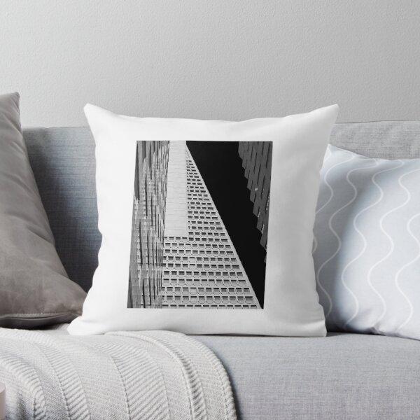 transam pyramid Throw Pillow