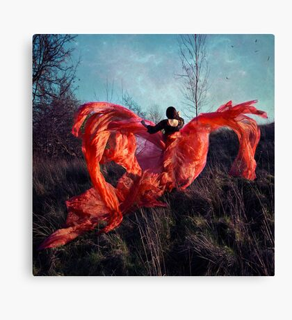 the phoenix hope; Canvas Print