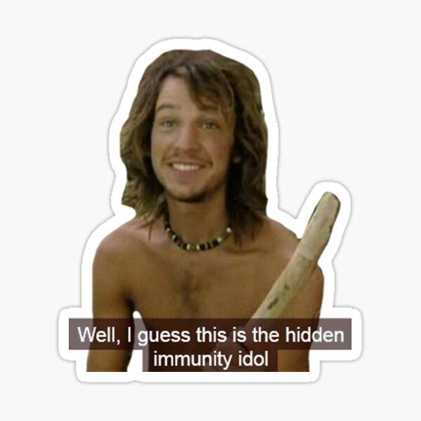 Fake Immunity Idol Sticker