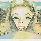 Vintage postcard collage by Sophie Moates
