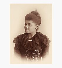 Potrait of Ida B. Wells by Mary Garrity (1893) Photographic Print