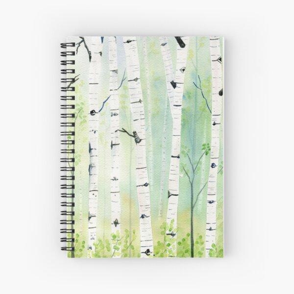 Birch Trees 2  Spiral Notebook