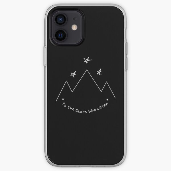 To the stars who listen quote Acotar fandom Sarah J Maas iPhone Soft Case