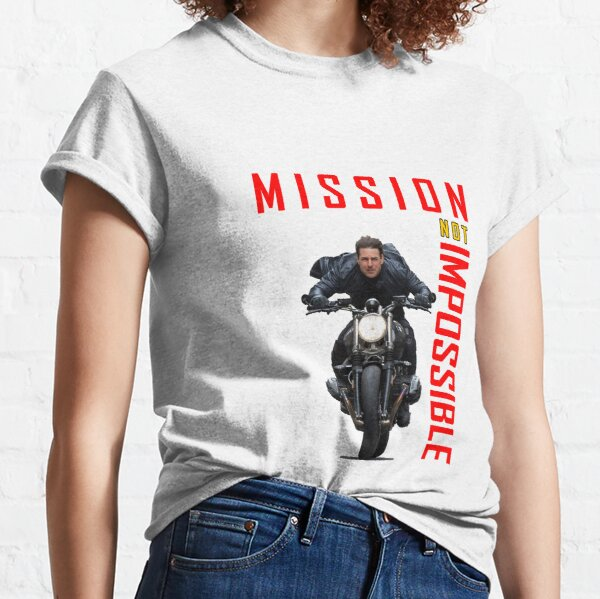 Mission Not Impossible Cool Design Classic T-Shirt