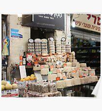 Halvah, Mahane Yehuda Market, Jerusalem Poster