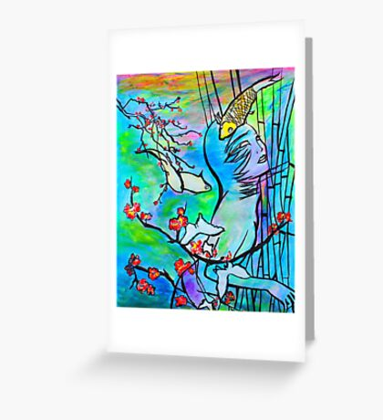 Let Dreams Come Greeting Card
