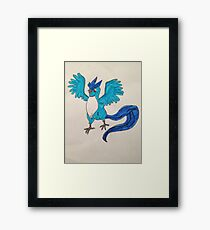 Articuno from Pokemon Framed Print
