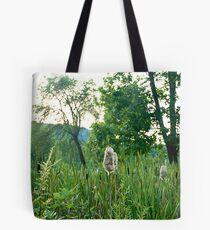 Cattail Tote Bag
