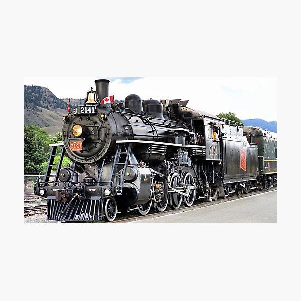 Steam Engine 2141 Photographic Print