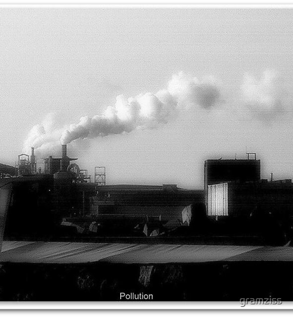 Pollution by gramziss