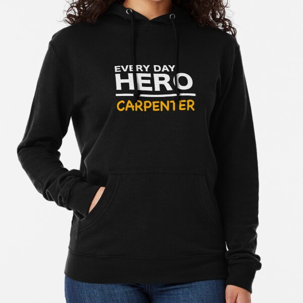 Carpenter by Day Worlds Best Mom by Night Hoodie