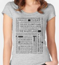 The Waste Land Women's Fitted Scoop T-Shirt