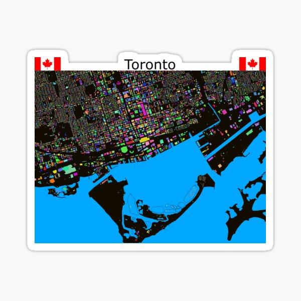 The Colours of Toronto Sticker
