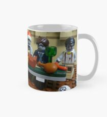 The Last Zombie Supper At Christmas Mug