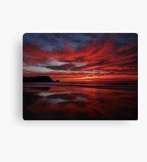 Sunrise Avoca Beach, NSW, Australia Canvas Print