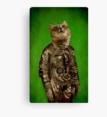 Up there is my home green Canvas Print
