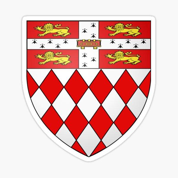 Fitzwilliam College Sticker