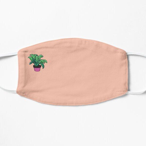 Cute Plant Mask in Peach Flat Mask